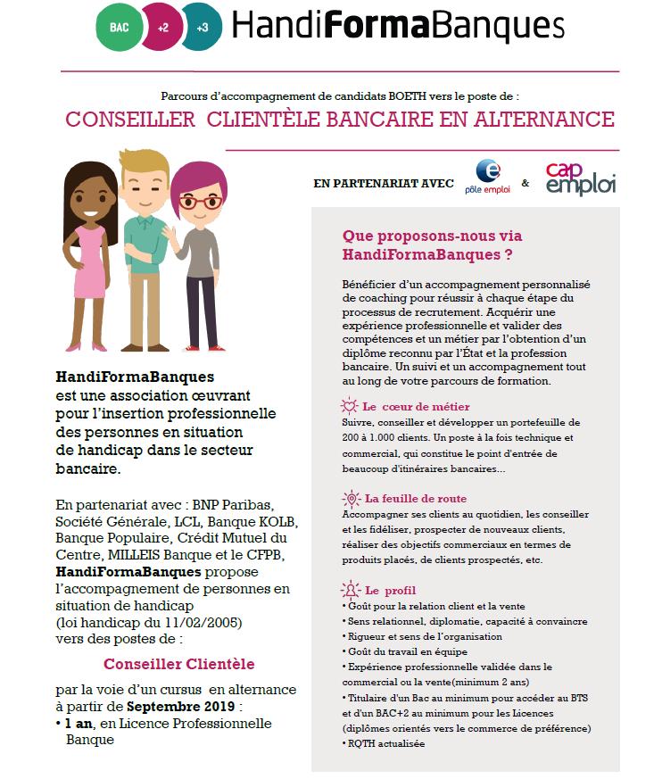 Campagne Handiformabanques 2019 Au Benefice Des Personnes Deth