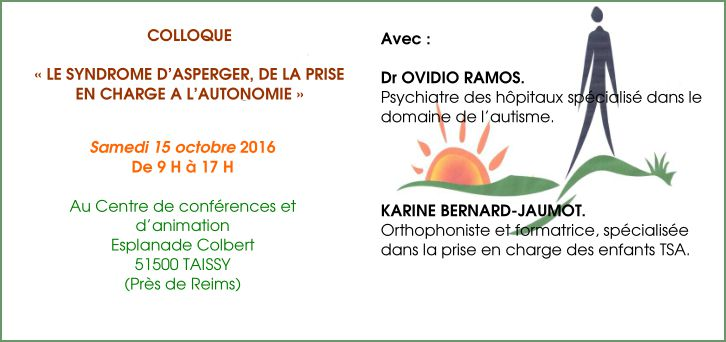colloque sur le syndrome d u0026 39 asperger  u00e0 reims